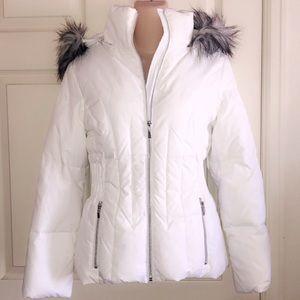 Braetan Jackets & Coats - BRAETAN White Puffer Jacket